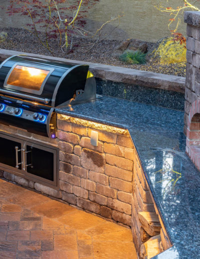 outdoor kitchen sedona landscaper