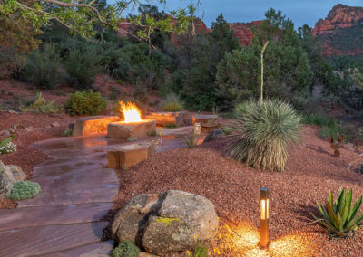 Sedona Landscaping Flagstone Patio