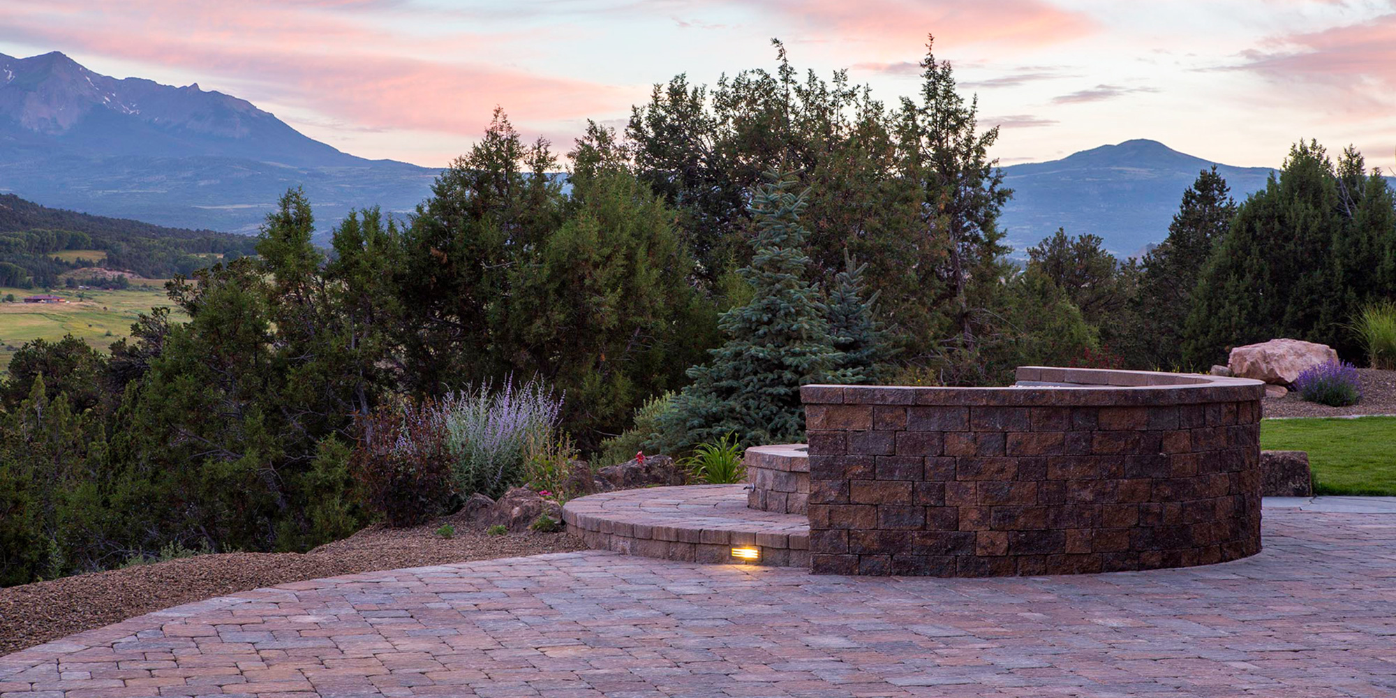 Landscape Design Paver Patio